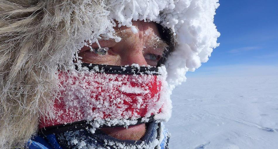 Kälte am Suedpol
