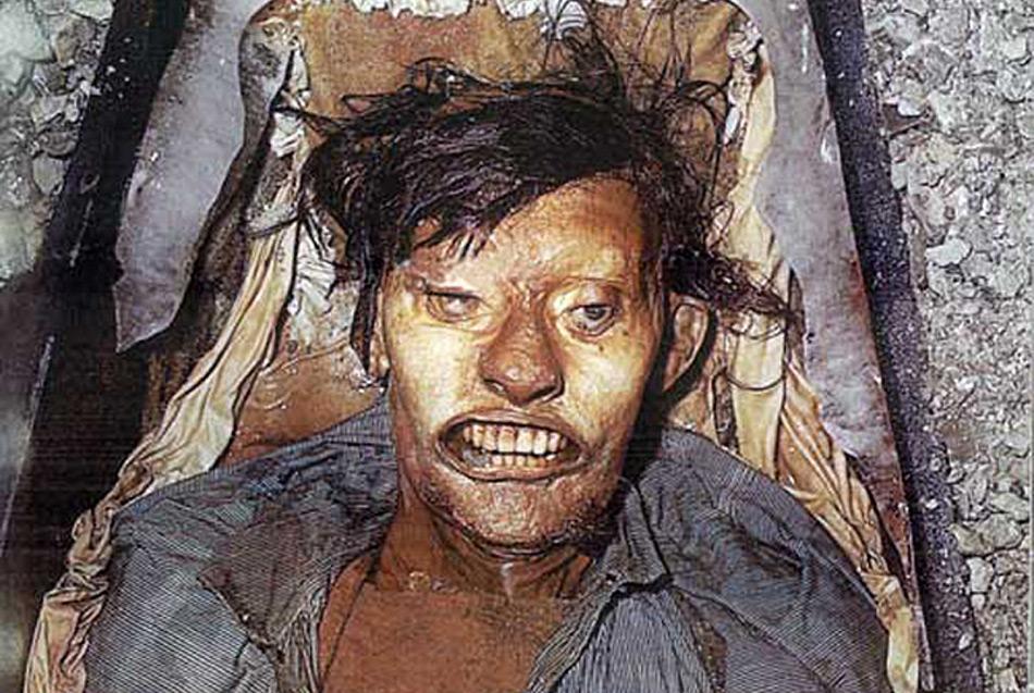 Die ausgegrabenen Mumien waren in erstaunlich gutem Zustand.